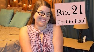 Rue 21 Plus Size Try On Shopping Haul