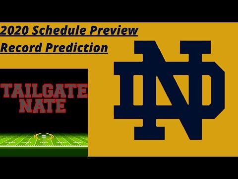 2020 Notre Dame Schedule Preview & Record Prediction