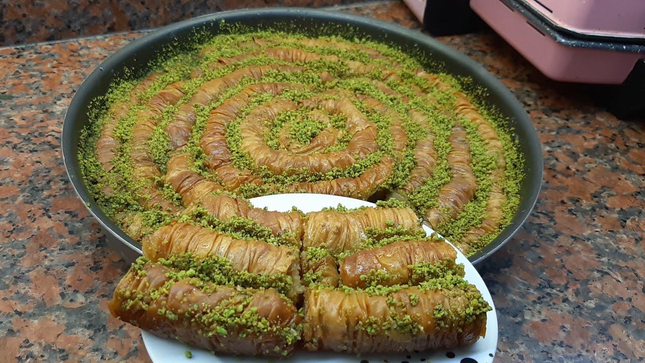 пахлава простой рецепт.Турецкий пахлава .