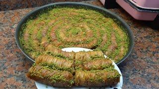 пахлава простой рецепт. Турецкий пахлава .