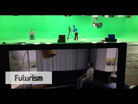 Life-like CGI Movie Sets