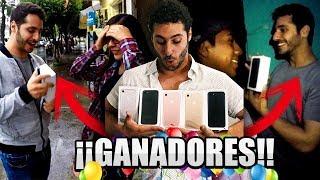 ► GANADORES iPhone 7   Sorteo Internacional   Giveaway   #Rayito