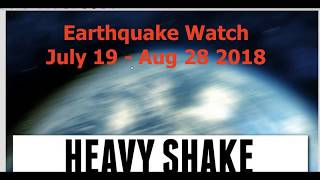 Great Quake of 2018 - July 19 - August 28 - Have a plan!