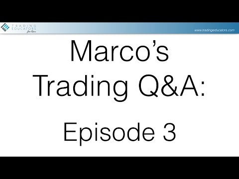 Marco's Q&A Ep.3: Demo-Accounts/123-Formations/Python-Platform