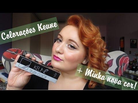 Review: Colorações Keune + Minha nova cor!