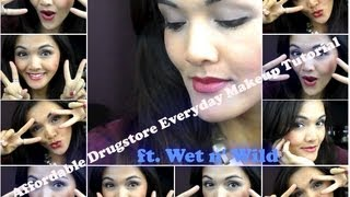AFFORDABLE DRUGSTORE Everyday Makeup Tutorial ft. Wet n' Wild Thumbnail