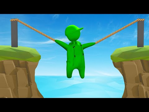 If You LET GO You DIE! (Human Fall Flat)