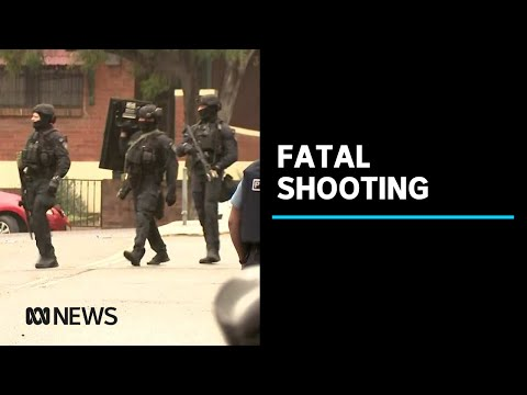 NSW Police Riot Squad Swarms Street In Sydney's Inner West After Fatal Shooting | ABC News