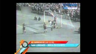 4 goles del Bambino Veira a Boca (1967)