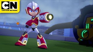 Mega Man: Fully Charged   Mega Man Heating Up!   Cartoon Network