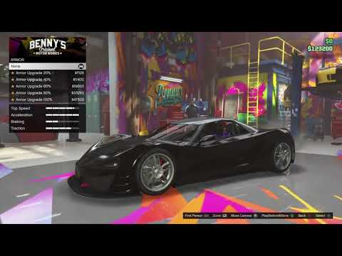 Grand Theft Auto V buying a new car
