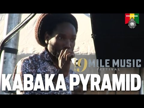 Kabaka Pyramid at 9 Mile Music Festival 2016