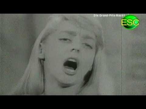 ESC 1957 02 - Luxembourg - Danièle Dupré - Amours Mortes (Tant De Peine)