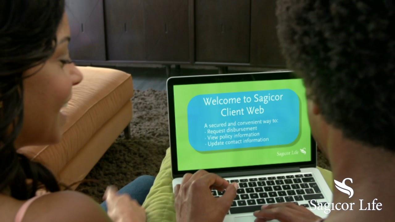 sagicor web client