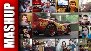 CARS 3 Extended Sneak Peek Trailer Reactions Mashup