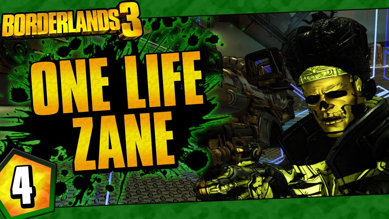 Borderlands 3 | One Life Zane Funny Moments And Drops | Day #4 thumbnail