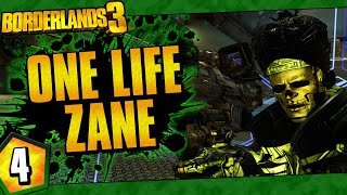 Borderlands 3 | One Life Zane Funny Moments And Drops | Day #4