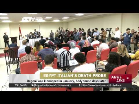 """Italy claims Egypt is """"slow"""" in finding the Regeni's killers"""