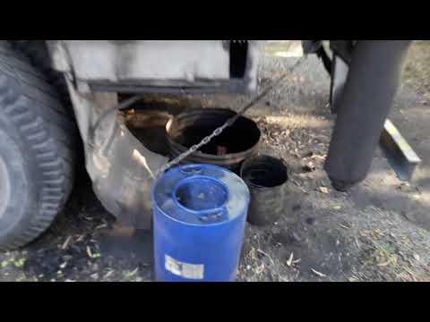 Смазка грузового троса автокрана