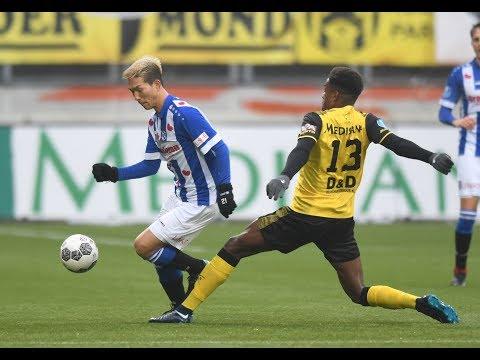 Eredivisie speelronde 13: Roda JC - sc Heerenveen