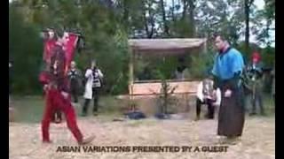 medieval streetfighting demonstration