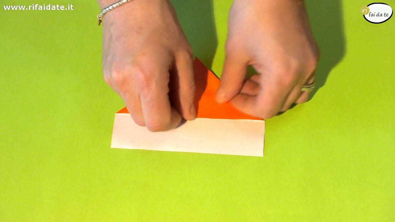 Estremamente Come fare un aereo di carta che plana a lungo - YouTube PB28