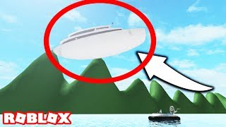 I SAW A FLOATING YACHT IN ROBLOX SHARKBITE ALPHA