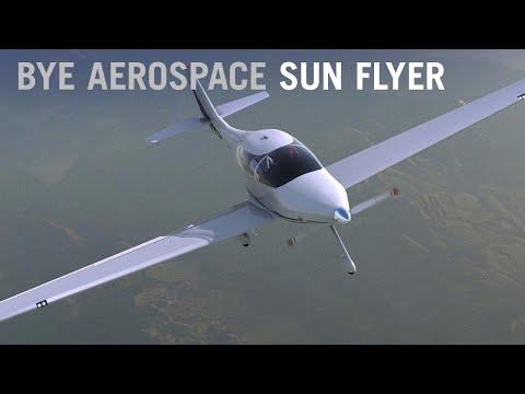 Bye Aerospace Sun Flyer Targets Charter Market – AINtv