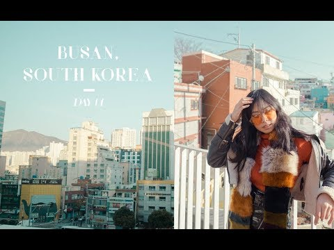 (DAY 1) First Time in Korea + Places To See in Busan | South Korea Travel Diary