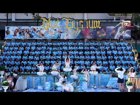 สแตนด์สีฟ้า กีฬาประเพณีสตรีวิทยา 2556