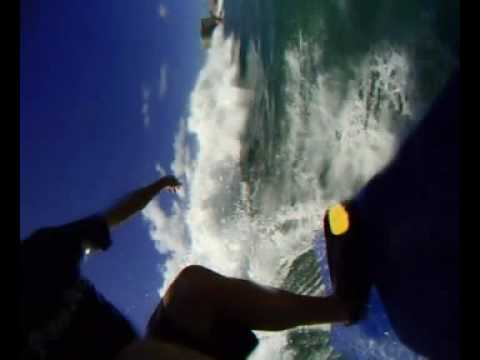 New STAND UP BODYBOARDING HAWAII w/ Fins!!! Oahu, Waikiki (S.U.B.) Stand Up Boogie Hawaii