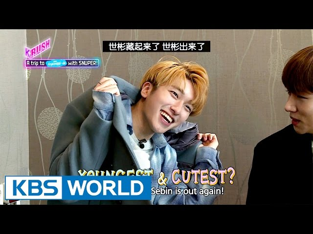 Let's follow SNUPER to Paju! [KBS World Idol Show K-RUSH / 2017.04.07]