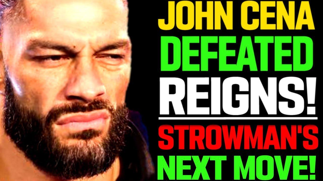 WWE News! John Cena Defeats Roman Reigns! Braun Strowman Next Move! WWE Star Targets Lynch! AEW News