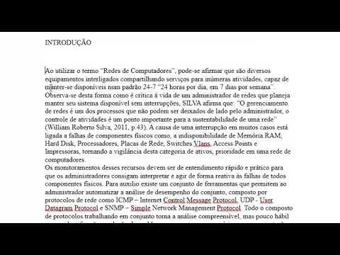 Normas Da ABNT - Word (aula 04)
