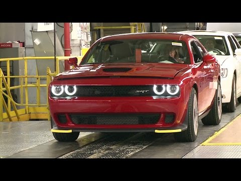 Dodge Charger, Challenger and Chrysler 300 Production
