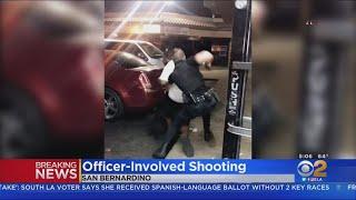 Man Shot By Police Officer Outside San Bernardino Liquor Store
