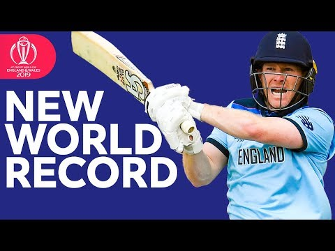World Record Sixes! | Morgan Hits 17 Sixes | ICC Cricket World Cup 2019