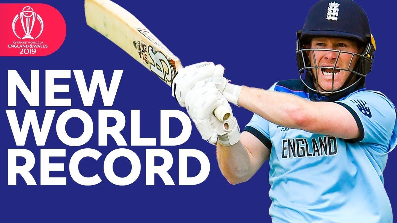 World Record Sixes! | Morgan Hits 17 Sixes | ICC Cricket World Cup 2019