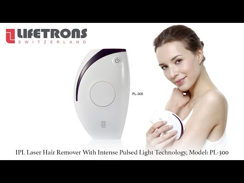 IPL Laser Hair Remover With Intense Pulsed Light Technology (PL-300)