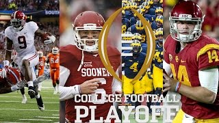 A Way-Too-Early #CFBPlayoff 2018 Prediction!!