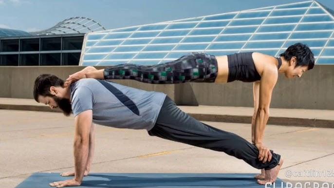 2 People Yoga Poses Youtube