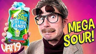 Can a Candy Change Your Face? (SOUR Cotton Candy)