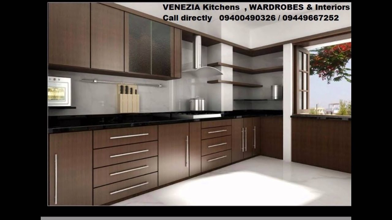 THRISSUR LOW COST Residential KITCHEN Designs   Venezia Kitchens 9400490326    YouTube