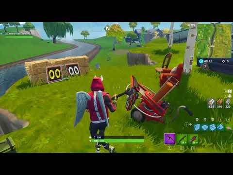 Shoot A Clay Pigeon At Different Locations - Fortnite Week 3 Challenge