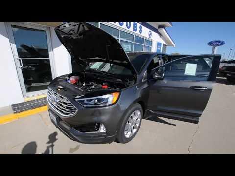 2019 Ford Edge Titanium AWD 2.0L Ecoboost