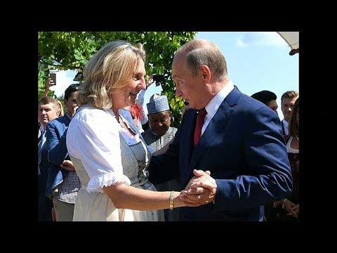 شاهد: فلاديمير بوتين يراقص وزيرة خارجية النمسا في حفل زفافها…  - نشر قبل 20 دقيقة