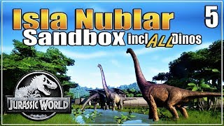 Let's build the Ultimate Dino Park | with ALL dinosaurs | Sandbox | Jurassic World Evolution | Ep. 5