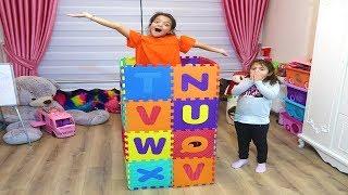 Masalı'ın Renkli Harfler Sihirli Giyinme Dolabı -  Magic Colors Letters Funny Kids Video
