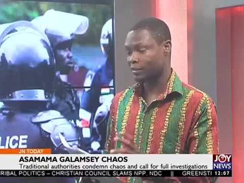 Asamama Galamsey Chaos -  Joy News Today (22-11-16)