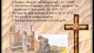 021 THE GOSPEL OF MATTHEW Responding To Evil wmv.wmv